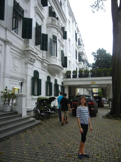 The Sofitel Metropole Hotel