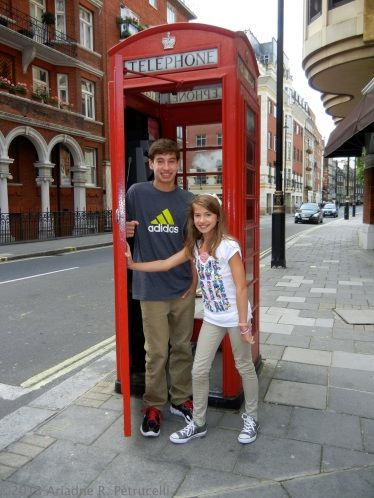 Newly arrived to London in August of 2011. Discovering the Sights